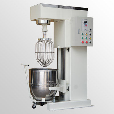 Vertical mixer with hard whip